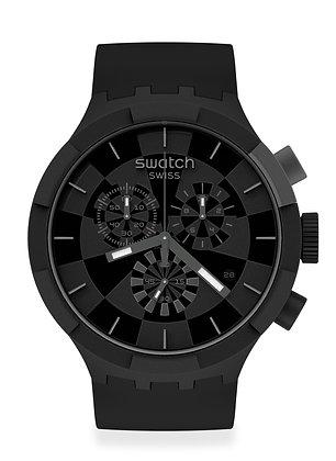 Swatch CHECKPOINT BLACK SB02B400
