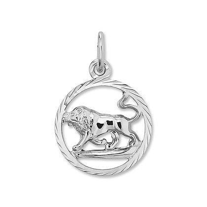 Anhänger Sternzeichen Löwe Silber 925/-