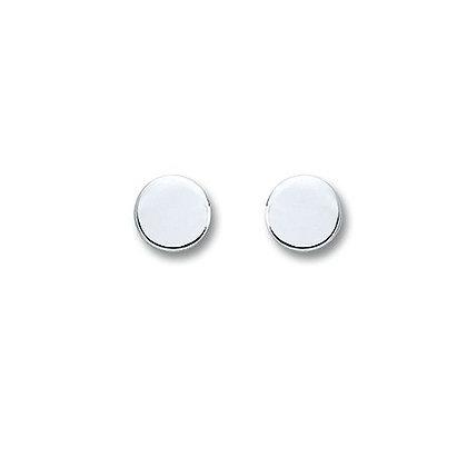 Ohrstecker rund 5,0 mm Silber 925/-