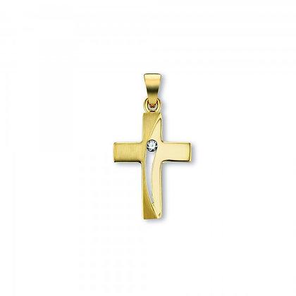 Anhänger Kreuz Zirkonia AHZ00050.1