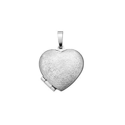Medaillon Herz Silber 925/-