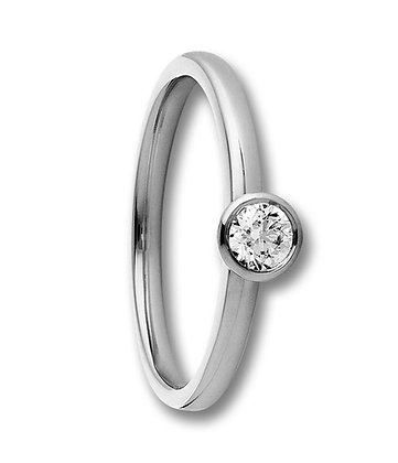 Diamantring 0.15ct Modell 76