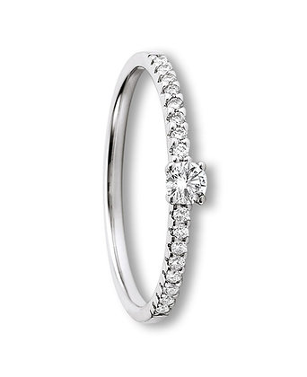 Diamantring 0.25ct Modell 49