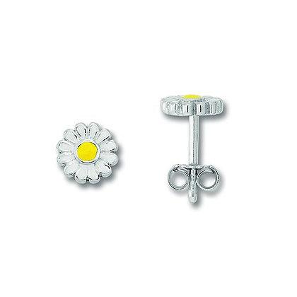 Ohrstecker Blume Silber 925/-
