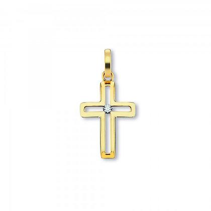 Anhänger Kreuz Zirkonia AHZ00051.1