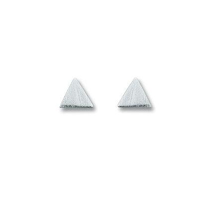 Ohrstecker dreieck 5,0 mm Silber 925/-
