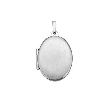 Medaillon oval Silber 925/-