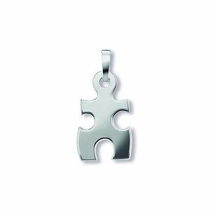 Anhänger Puzzle Silber 925/-
