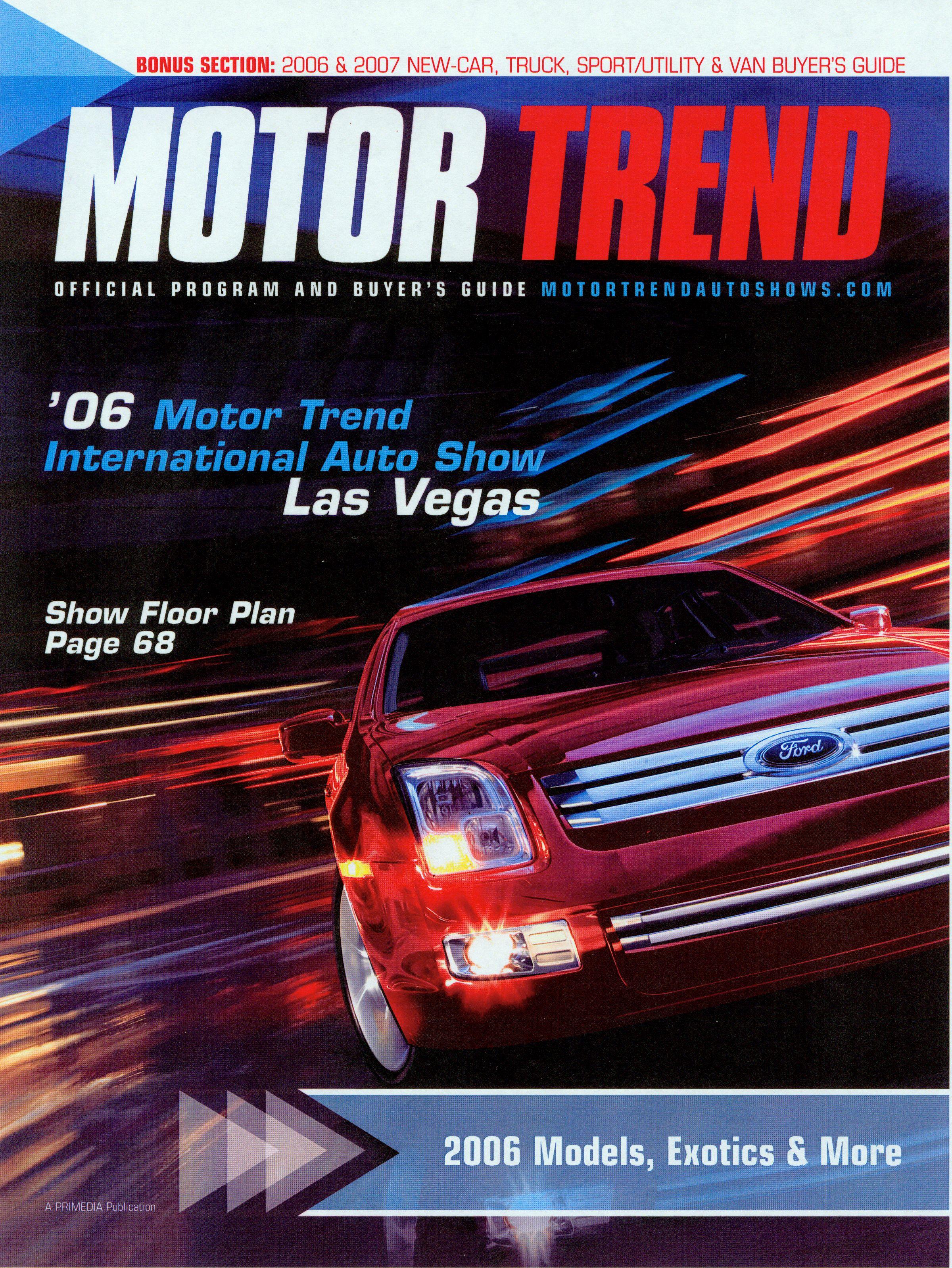 San Diego Auto Show Magazine Cover