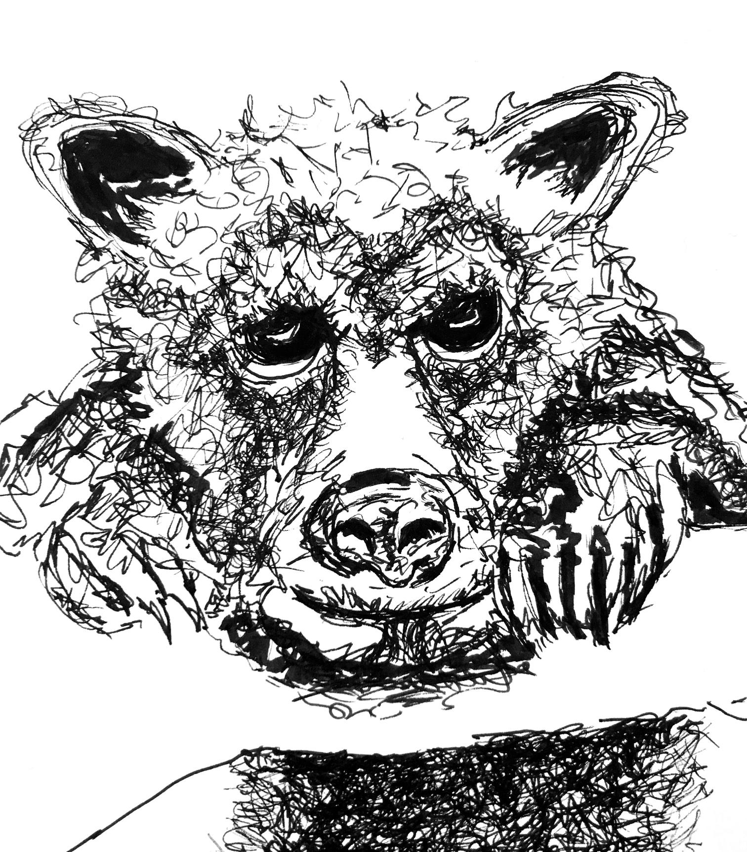 Micropigment Pen Illustration