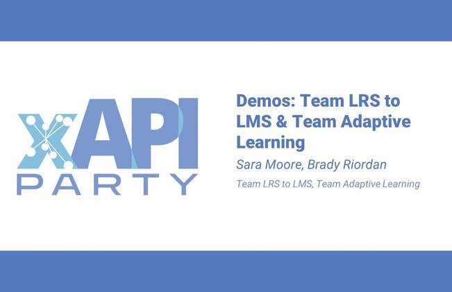 xAPI: LRS to LMS