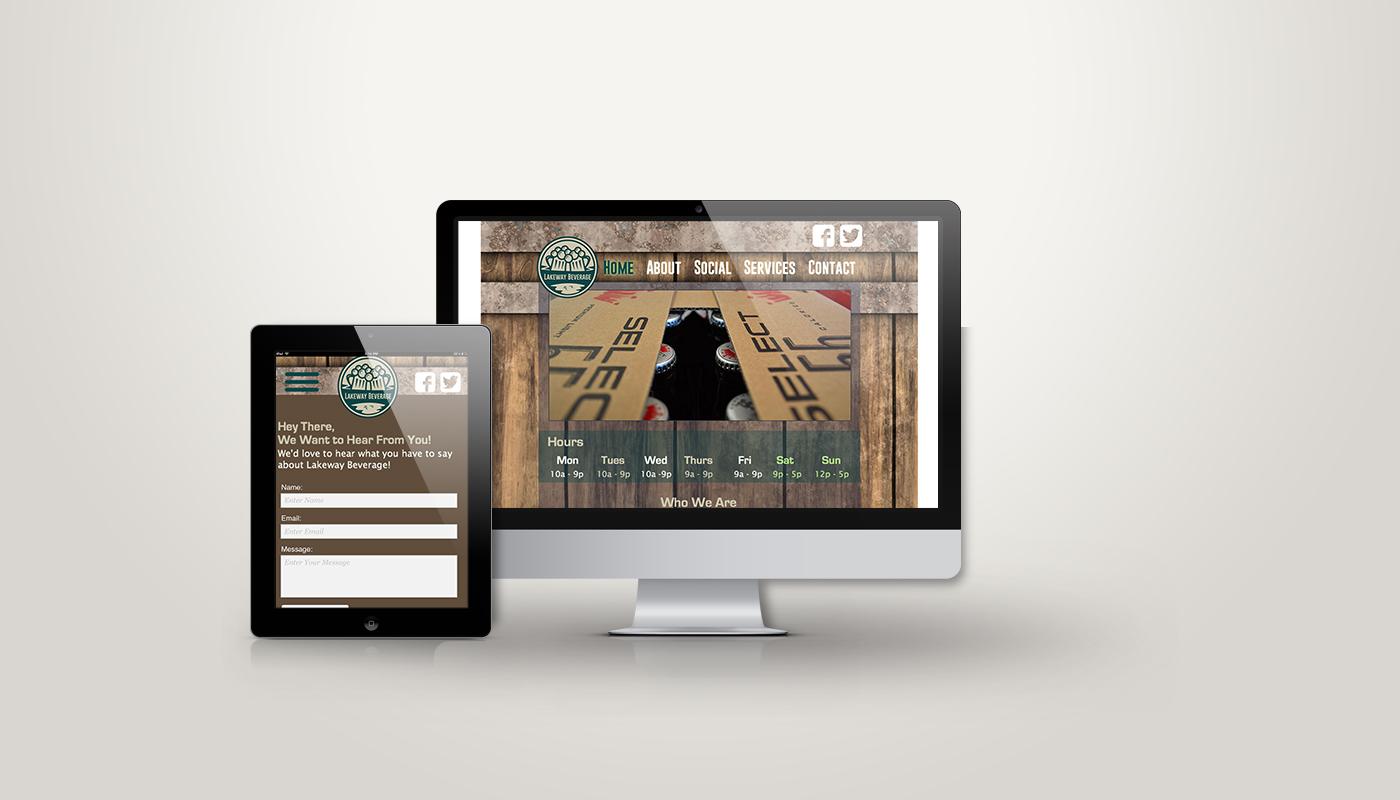 Lakeway Beverage Website
