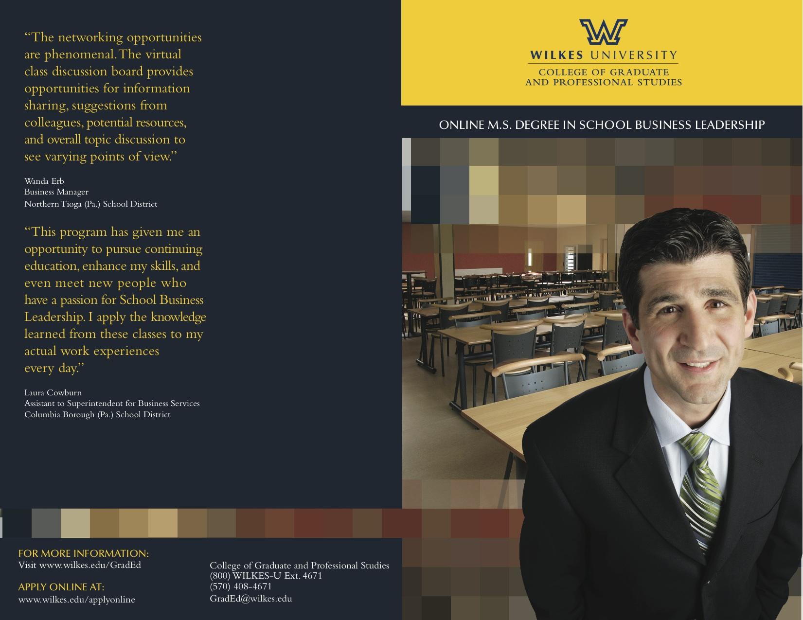 Wilkes University Brochure