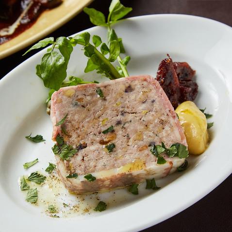 豚肉のパテ・ド・カンパーニュ