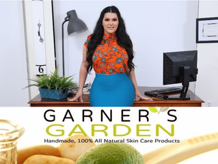 ANGELINA CASTRO IS THE NEW BRAND AMBASSADOR FOR GARNER'S GARDEN.