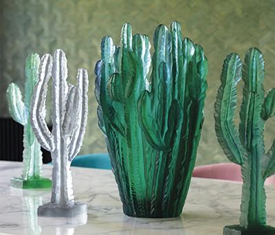 Jardin de Cactus : fruit d'une collaboration entre Daum et Emilio Robba