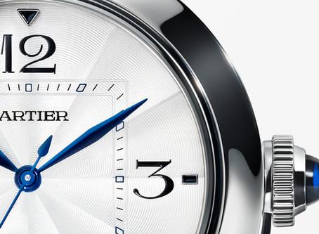 The Pasha de Cartier watch, as fashionable as ever