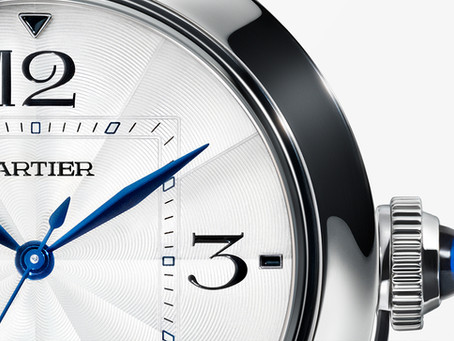 The Pasha de Cartier watch, as fashionable as ever
