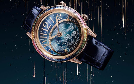Astronomical watch, the universe on your wrist