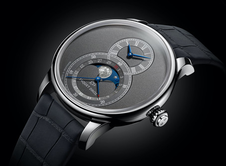 Grande Seconde Moon Anthracite by Jaquet Droz, eyes on the stars