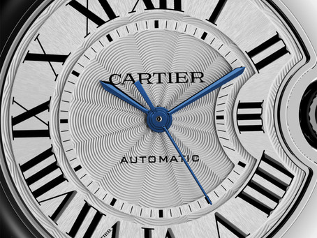 Ballon Bleu, precisely Cartier