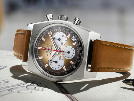 Zenith presents the El Primero Chronomaster A385 Revival