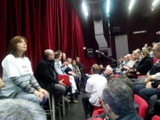 Première réunion publique à Audun-le-Tiche : le collectif fait salle comble !
