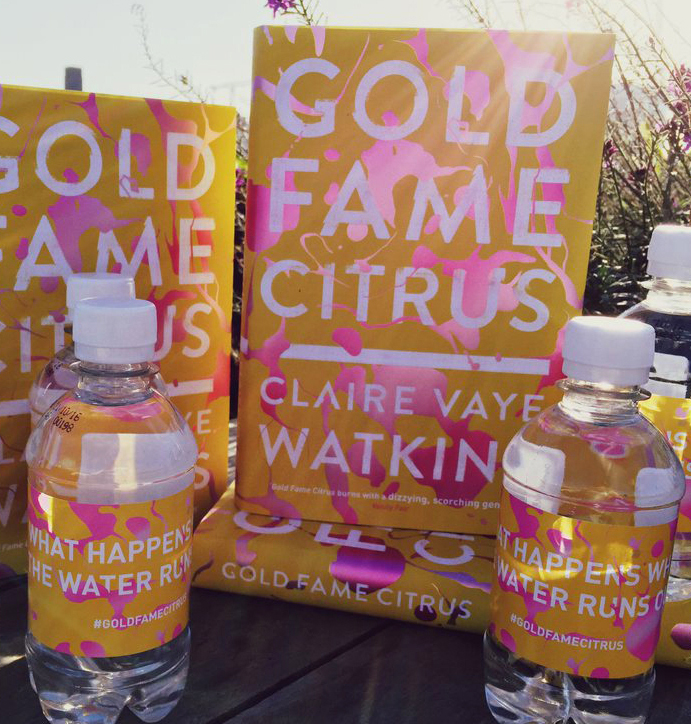 Gold Fame Citrus Water Labels