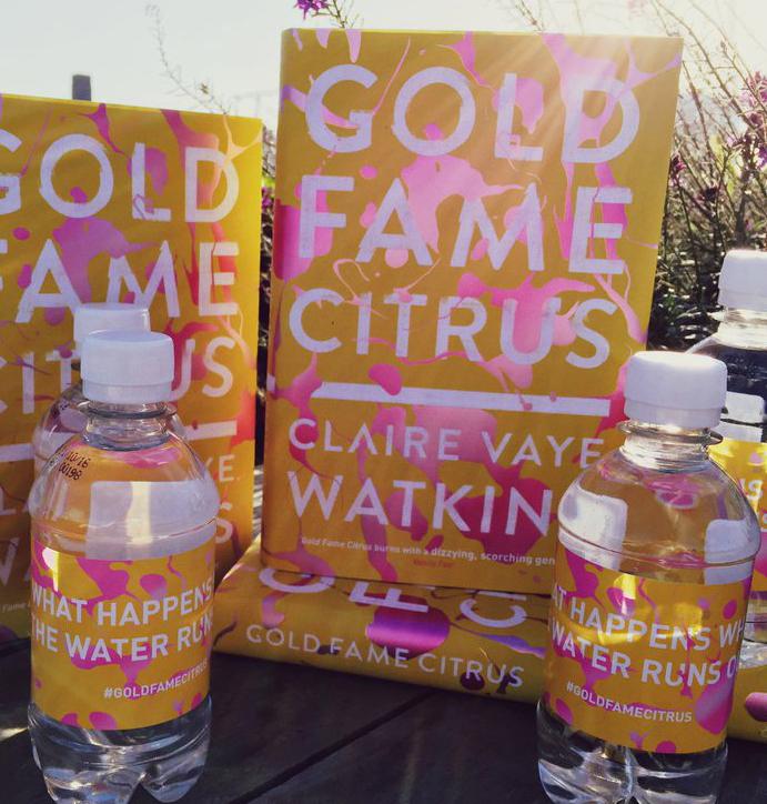 Gold Fame Citrus Water Labels