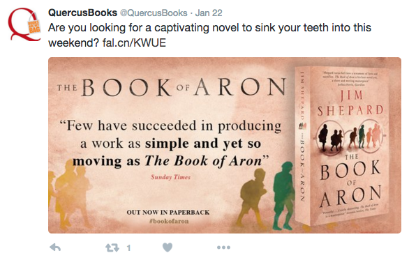 Book of Aron Twitter card