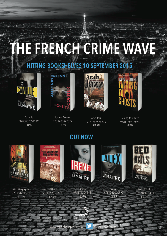 French crime titles advert