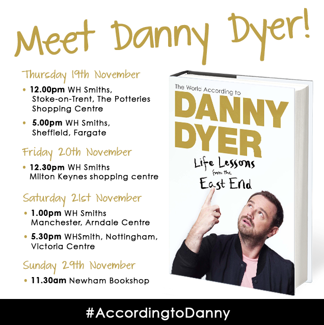 Danny Dyer tour Instagram