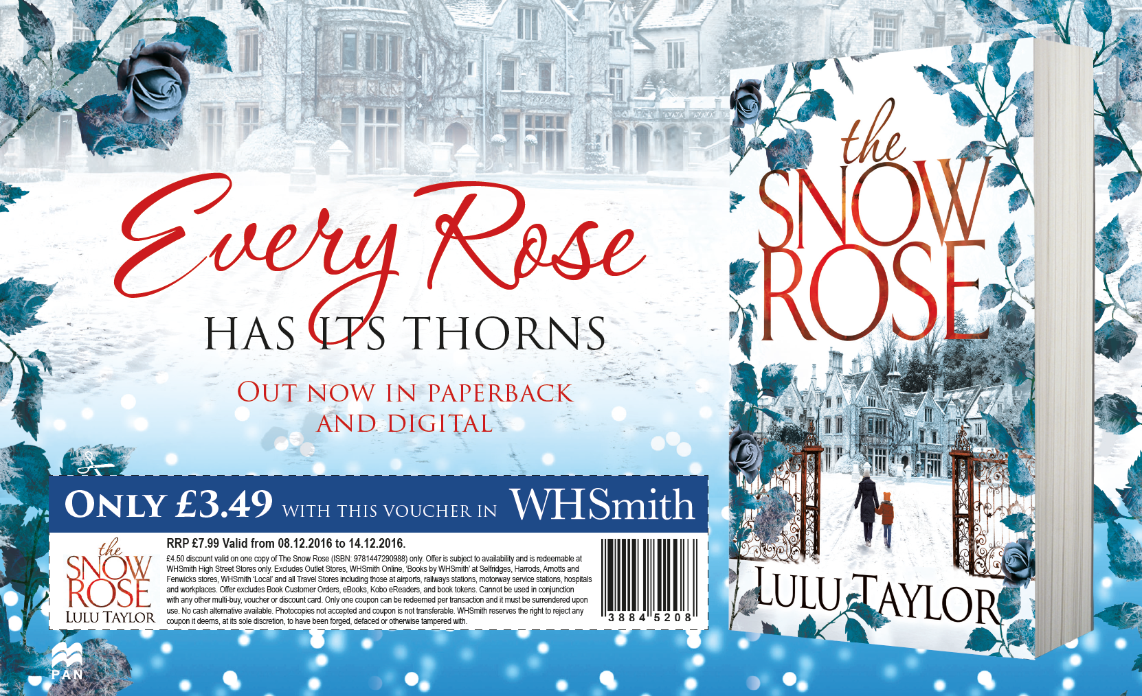Snow Rose voucher advert