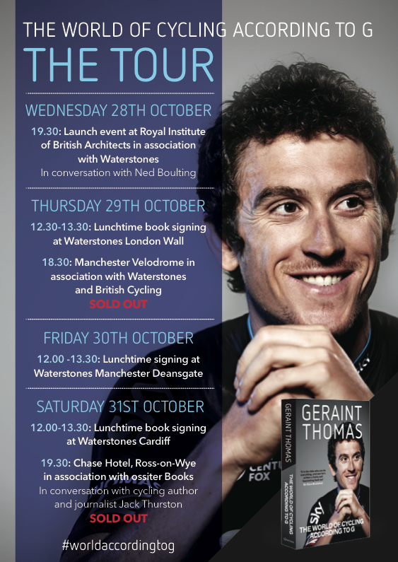 Geraint Thomas tour poster