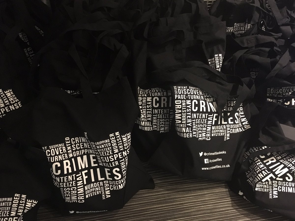 Crime Files Tote Bag