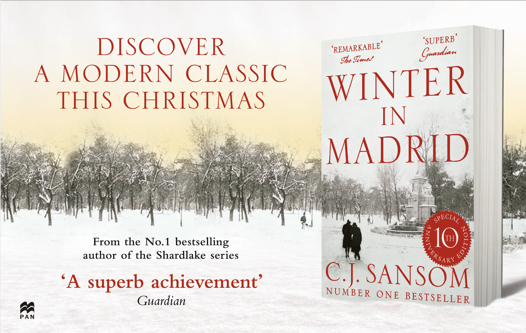 Winter In Madrid advert