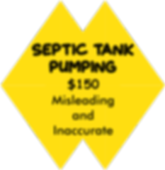 Septic Tank Pumping $150