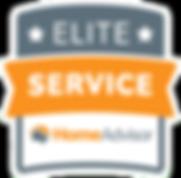Home Advisor Elite Service 5 Star Review Award for Septic Tank Pumping by Saving Septics
