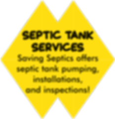 Saving Septics offers septic tank pumping, installations, and inspections