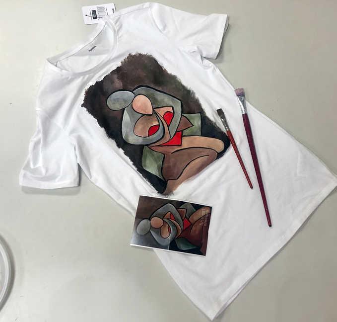 Рисование на одежде