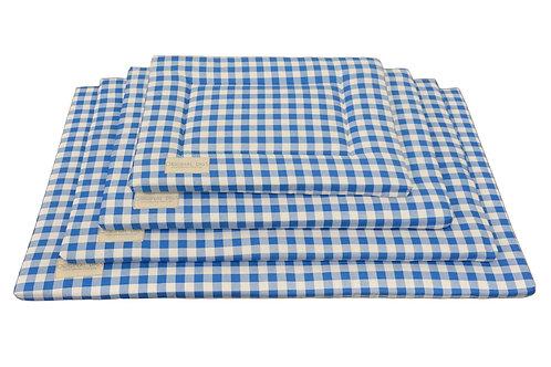 Blue & White Plaid Pet Pad