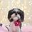 Thumbnail: Pink Polka Dot Pet Bed