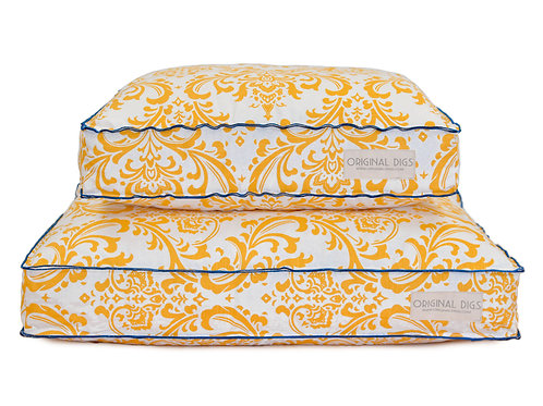 Yellow Traditions Blue Pet Bed SLIPCOVER