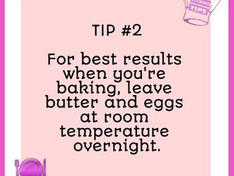 TIP #2 - Room Temperature