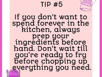 TIP #5 - Prep All The Way