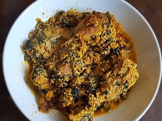Chicken Egusi Soup