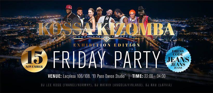 Kossa Kizomba Friday Party