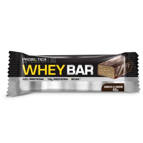 Whey Bar - 40g - Probiótica