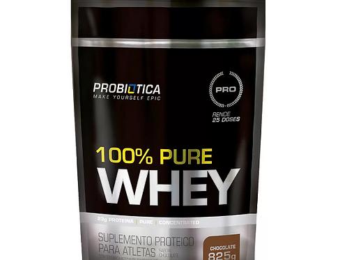 Whey Protein 100% Pure Whey Refil Pouch - Probiótica 825g
