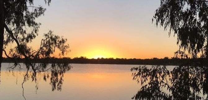 Sunrise at Lake Albert Wagga Wagga